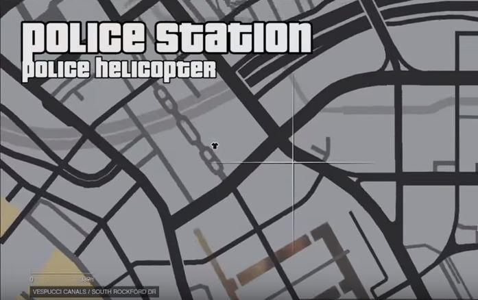 gta v police helicopter location