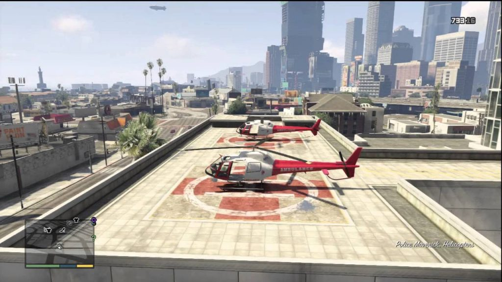 gta 5 hospital helicopter
