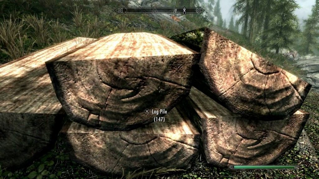 skyrim where to find wood