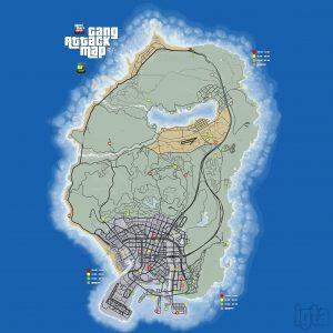 gta 5 gang attack locations