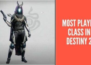 destiny 2 most played class
