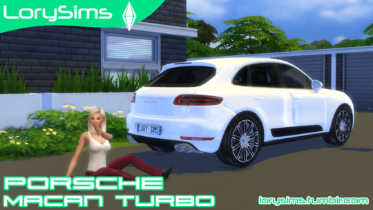 Porsche Macan Turbo by LorySim
