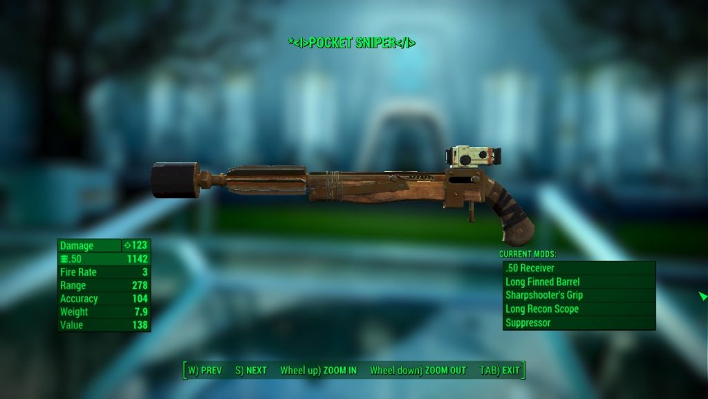 ipe Bolt-Action Sniper Rifle