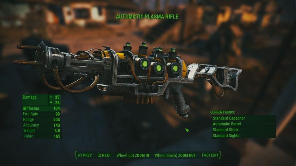 Plasma Gun fallout4