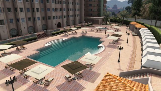 RichmanHotelgiant pool gta v