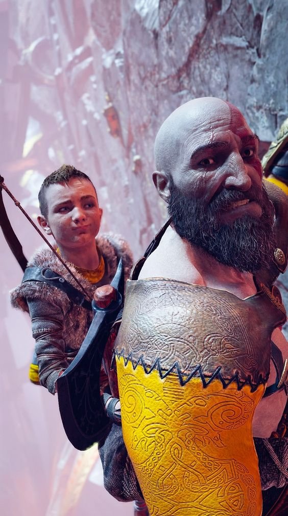 God of War Kratos Selfie