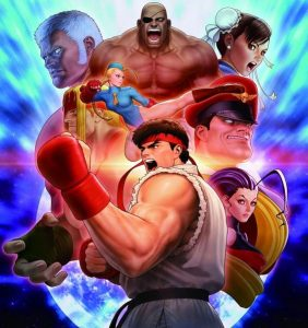 street fighter characters artworks