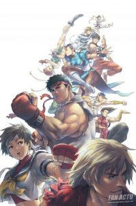 street fighter characters art