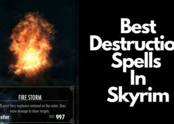 Best Destruction Spells in Skyrim