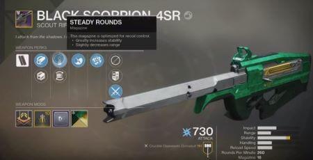Black Scorpion-4SR Scout Rifle