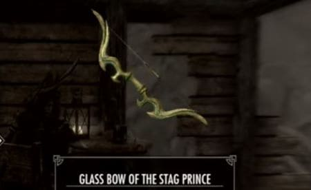 Glass Bow of the Stag Prince skyrim