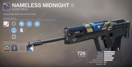 Nameless Midnight Scout Rifle