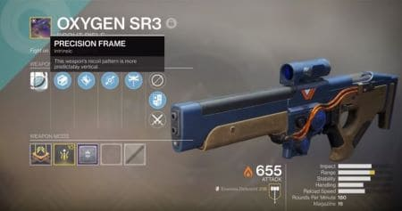 Oxygen SR3 Scout Rifle