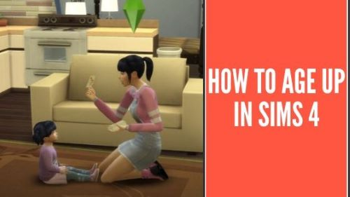 How to age up in Sims 4