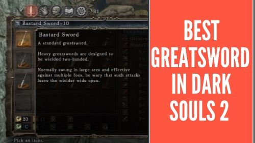 best greatsword ds2