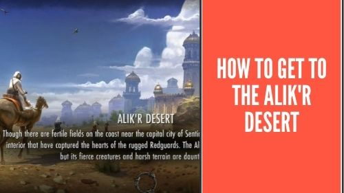 How To Get To the Alik'r Desert